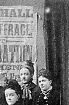 Ann Ellis (standing behind Alice Cliff Scatcherd)
