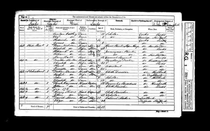 1861 census2