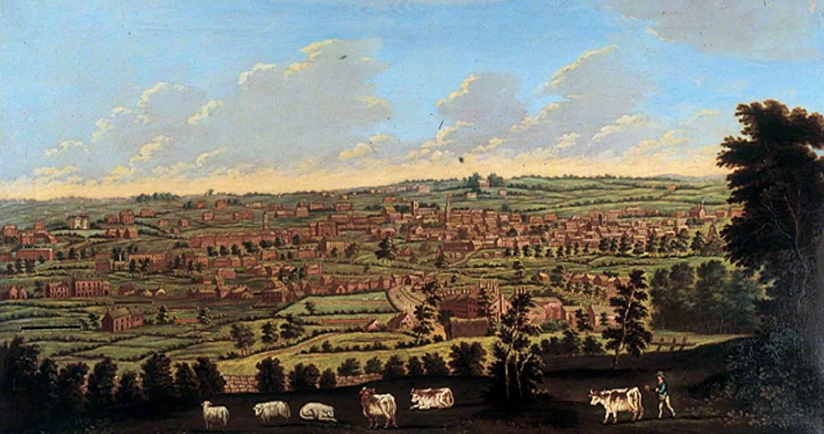 Fielding, Nathan, 1747-c.1814; Prospect of Leeds