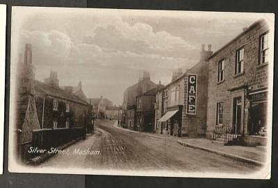 KNA-Early-Postcard-Silver-Street-Masham-North-Riding