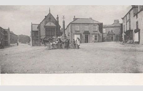 postcard middleham